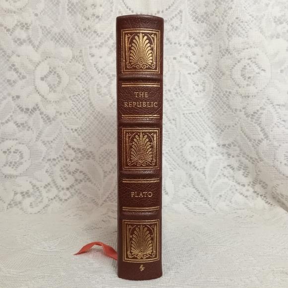 Plato The Republic Leather Bound Easton Press 1980